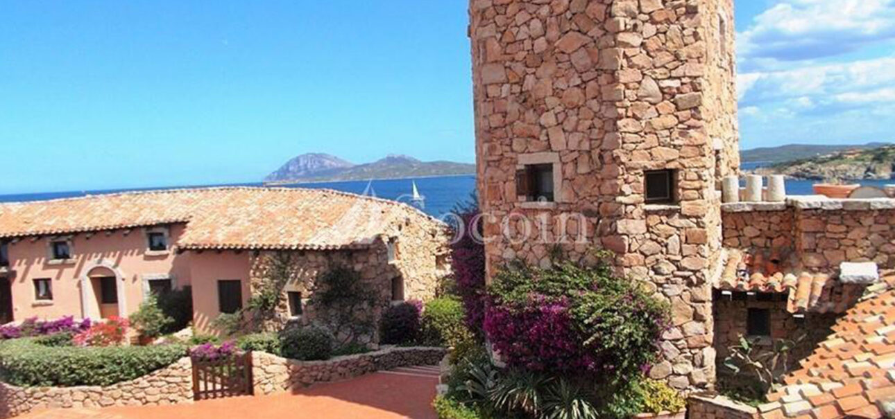 Bilocale in affitto a Porto Rotondo in residence con piscina a Punta Volpe