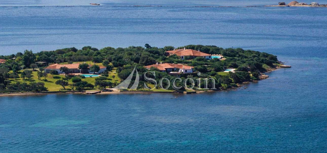 Villa in affitto in Costa Smeralda di lusso con spiaggia privata