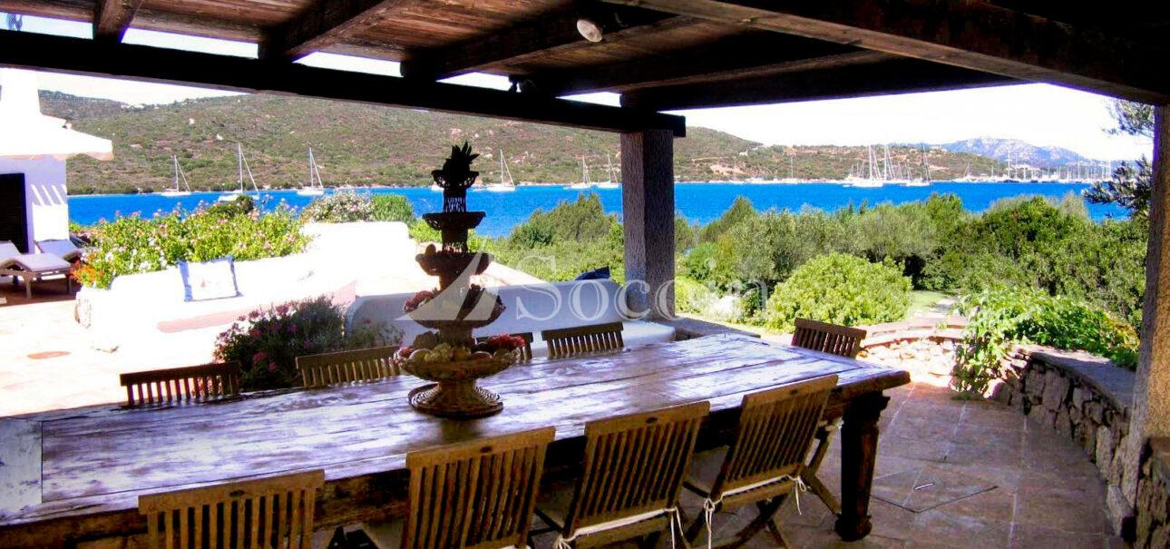 Villa in affitto a Porto Rotondo vista mare su Cala di Volpe