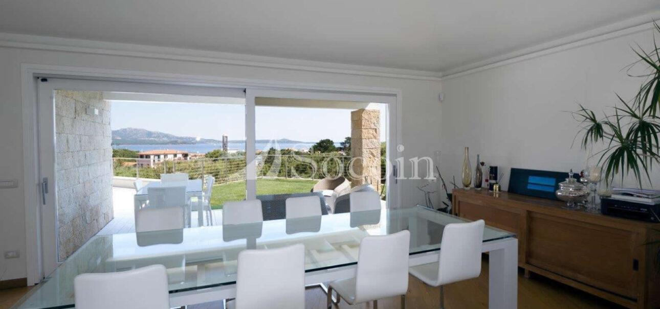 Villa con vista mare in affitto a Porto Rotondo in centro